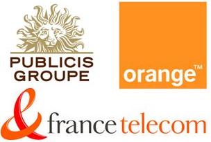 Publicis-France-Telekom-logos