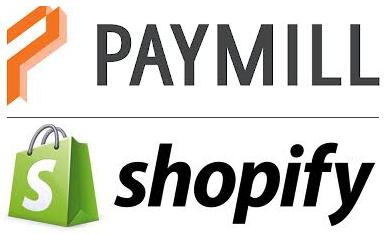 Paymill-Shopify-logos