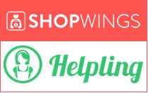 ShopWings-Helpling-logos