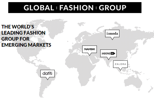 Global Fashion Group announces €150 million internal financing round