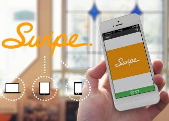 Swipe-to-logo