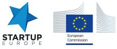 Startup-Europe-EC-logos