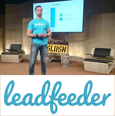 Interview: What Leadfeeder learned from the pitch competition at Slush