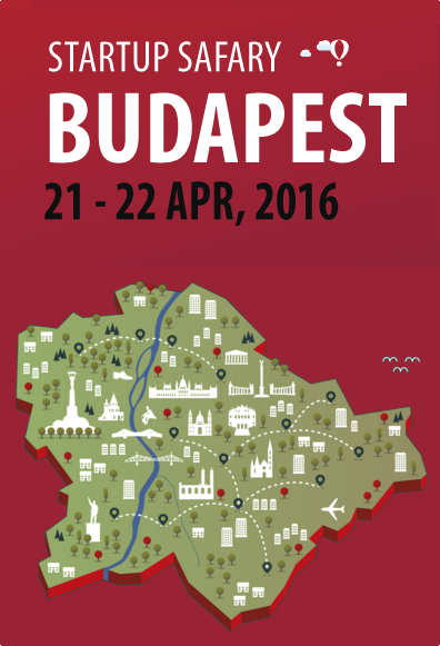 Startup Safary turns Budapest into a startup exhibition from the 21st to the 22nd of April