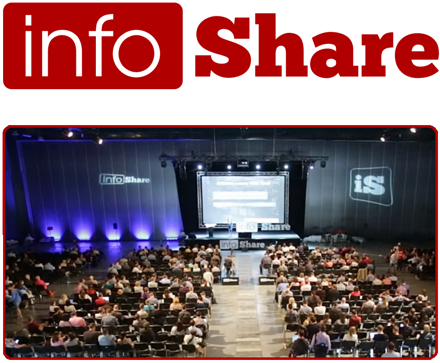 Don't miss infoShare 2016: 5,000+ participants, around 100 international speakers, € 20K for the Startup Contest winner