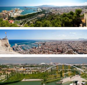 Malaga-Alicante-Valencia