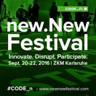 Celebrating Digital Disruption: Join the CODE_n new.New Festival from September 20-22 in Karlsruhe (Sponsored)