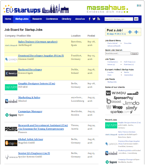 Job-board-EU-Startups