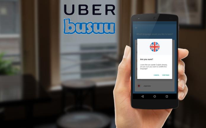 Busuu-Uber-cooperation