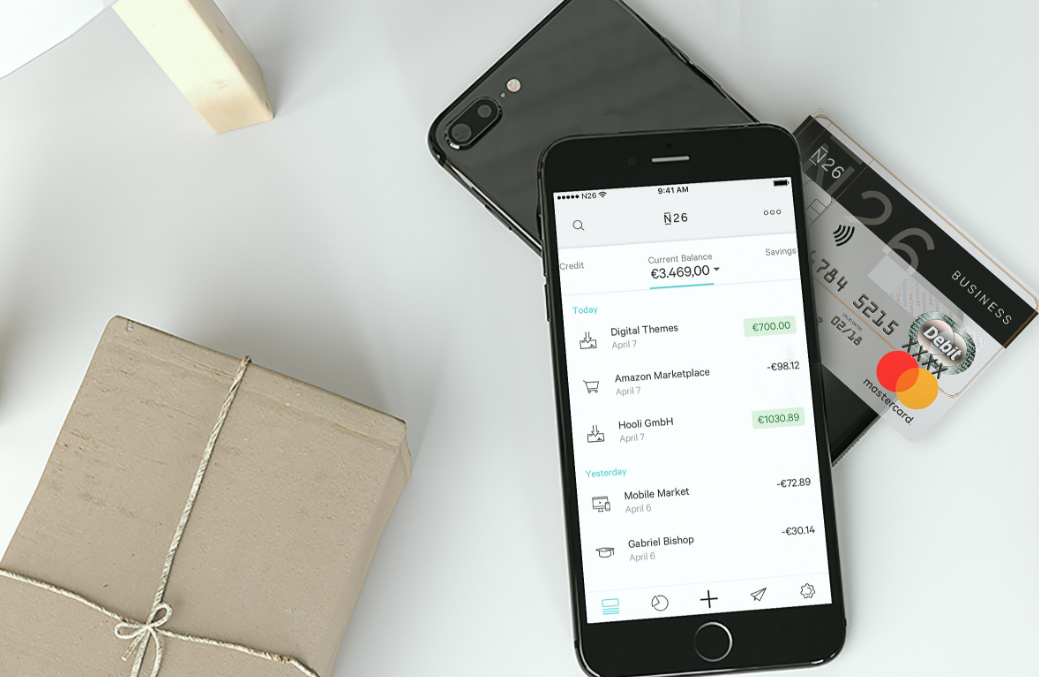 Berlin-based FinTech startup N26 launches mobile bank ...