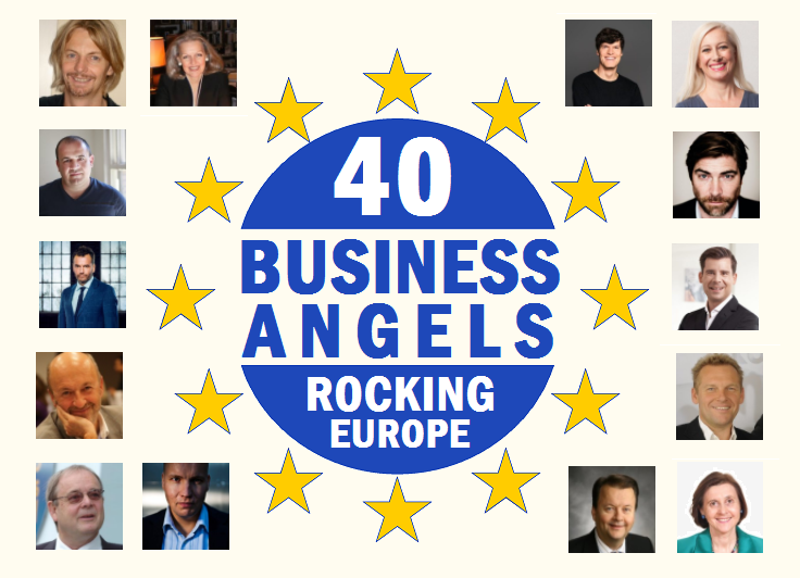 Top 40: Business Angels that are rocking Europe and help startups