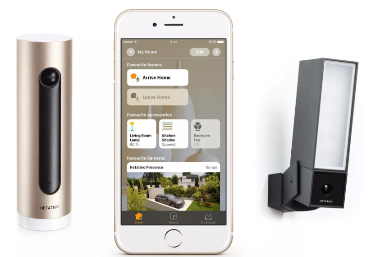French connected home startup Netatmo is acquired by Legrand