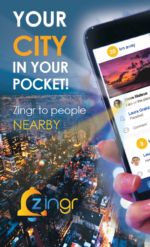 Zingr social app discover people nearby