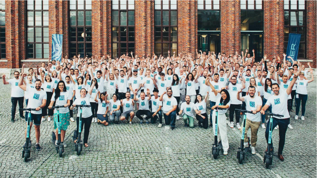 Berlin-based e-scooter startup TIER Mobility raises €55 million Series B funding round