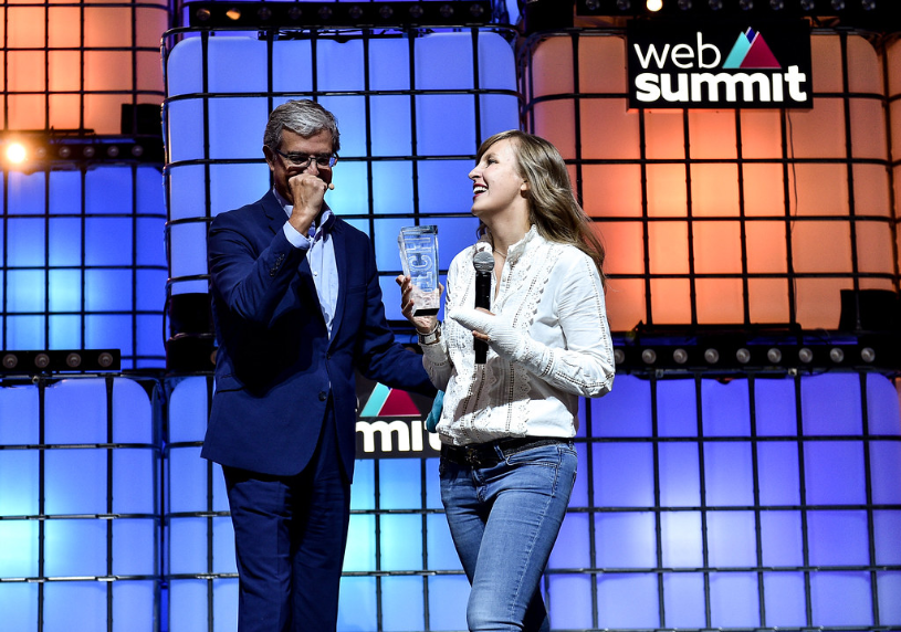 Nutrix glycose level measurement device wins pitch competition at Web Summit 2019