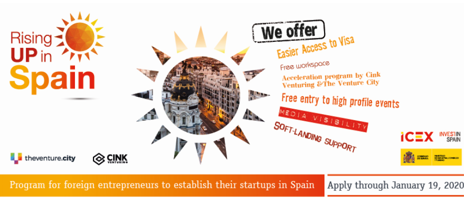 Call for applicants to the 'Rising UP in Spain' acceleration programme! (Sponsored)