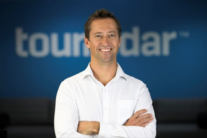 TourRadar's co-founder Travis Pittman