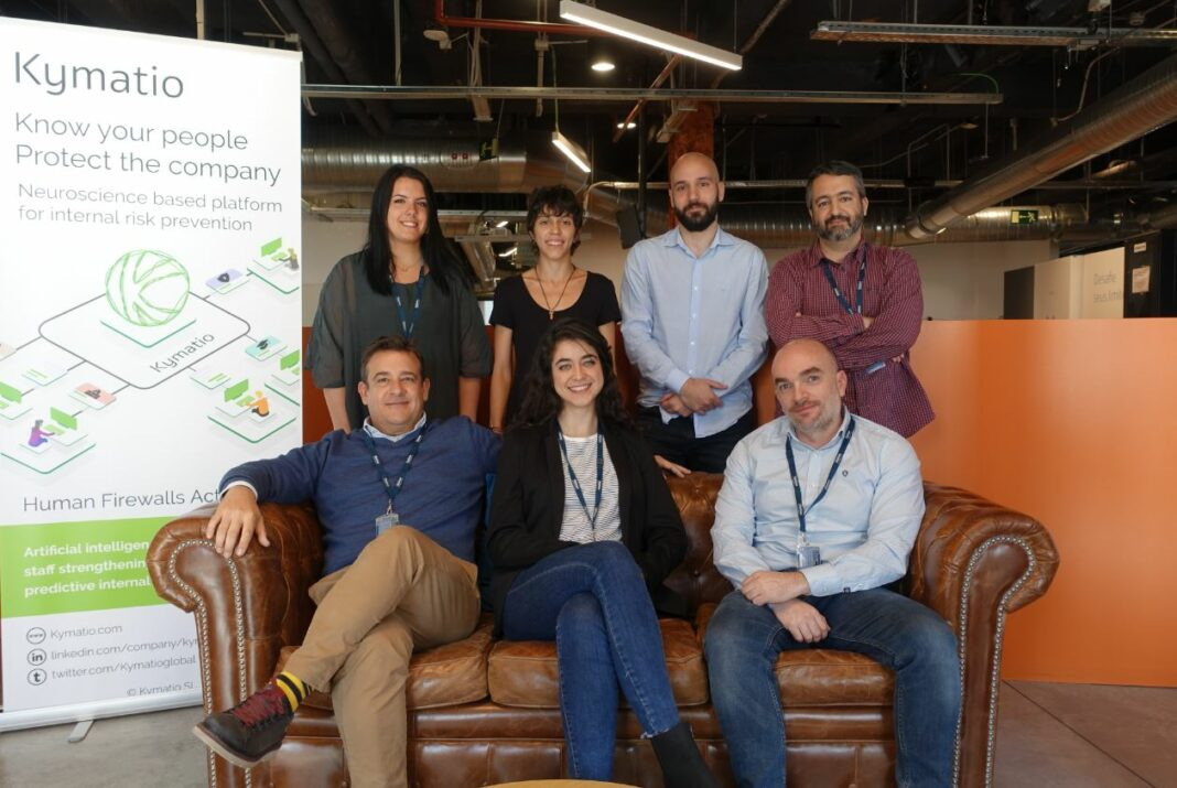 Madrid-based Kymatio raises €725K to expand its cybersecurity tools for employees