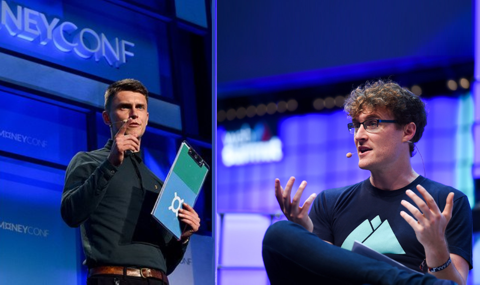 Interview with Web Summit's CEO and co-founder Paddy Cosgrave, and Head of Startups Sean Curtin