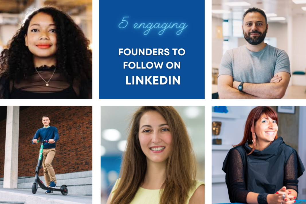 5 engaging Europe-based founders to follow on LinkedIn