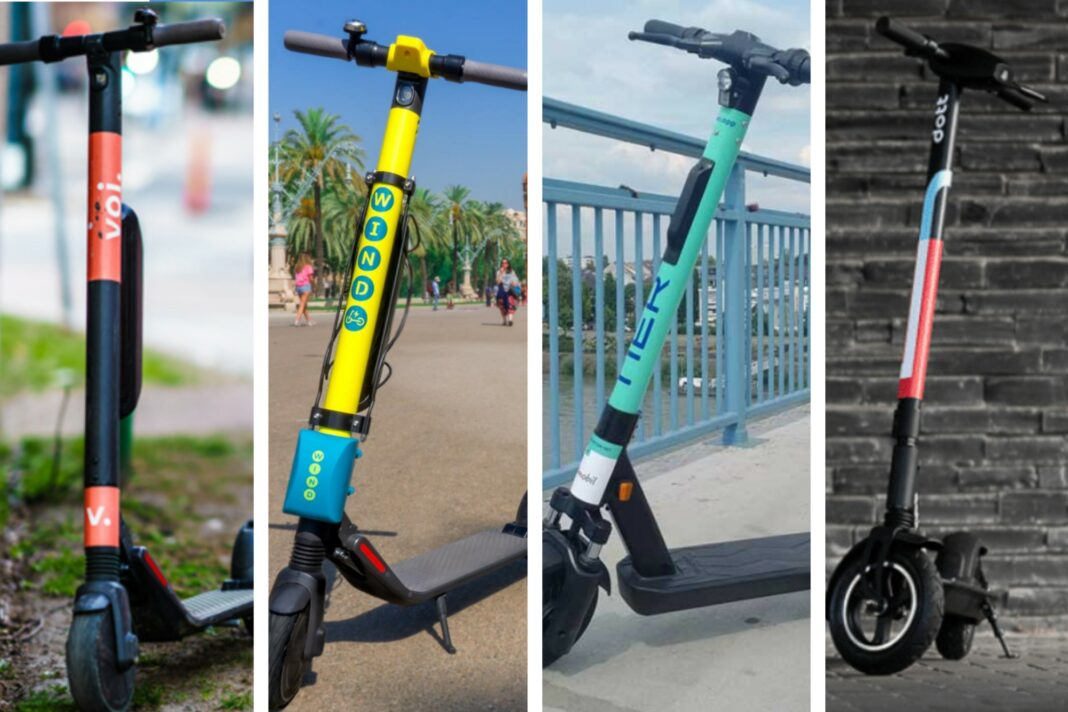Battle of the European e-scooter startups: Dott, Tier, Voi, Wind