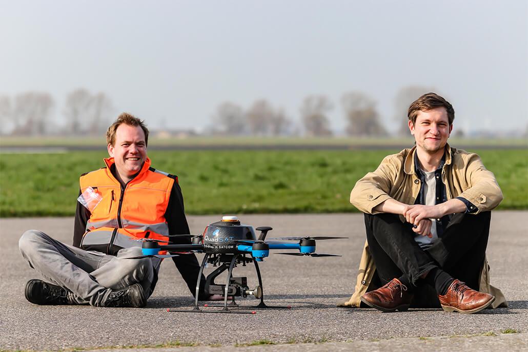 Danish drone startup QuadSAT raises €2 million to boost its antenna testing tech