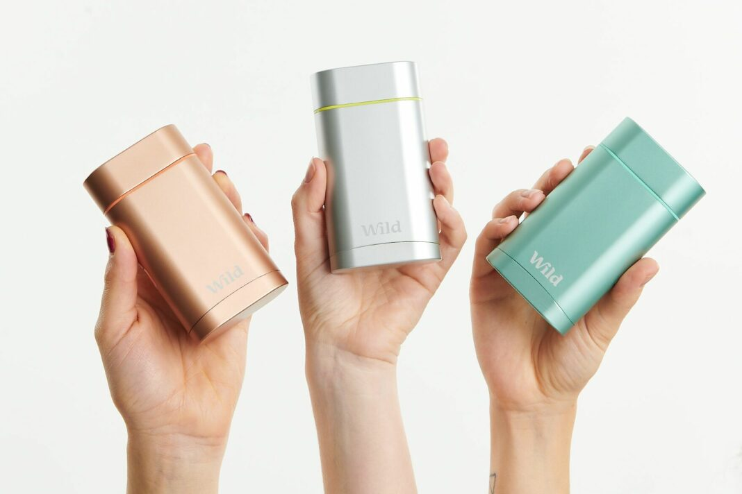 London-based eco startup WILD grabs €2.2 million for its plastic-free, refillable & gender neutral deodorant