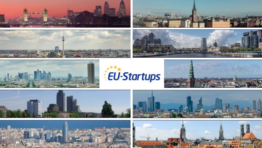 TOP 30: Europe's biggest startup hubs in 2020