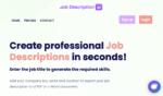 Job Description AI