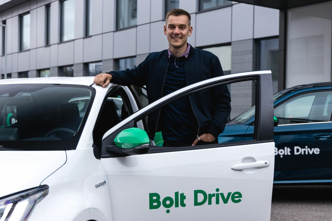 Tallinn-based Bolt launches its car-sharing service Bolt Drive