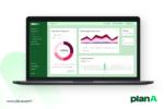 Dashboard of Plan A ESG Platform © Plan A
