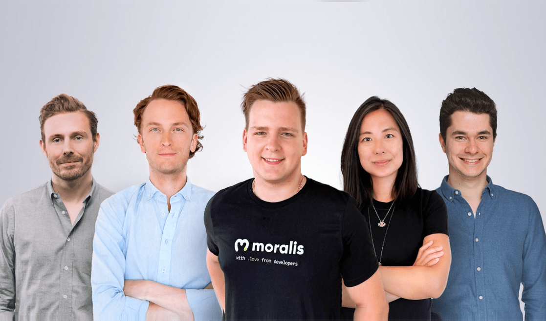 Stockholm-based Moralis secures €11.5 million to make building Apps as easy as building websites